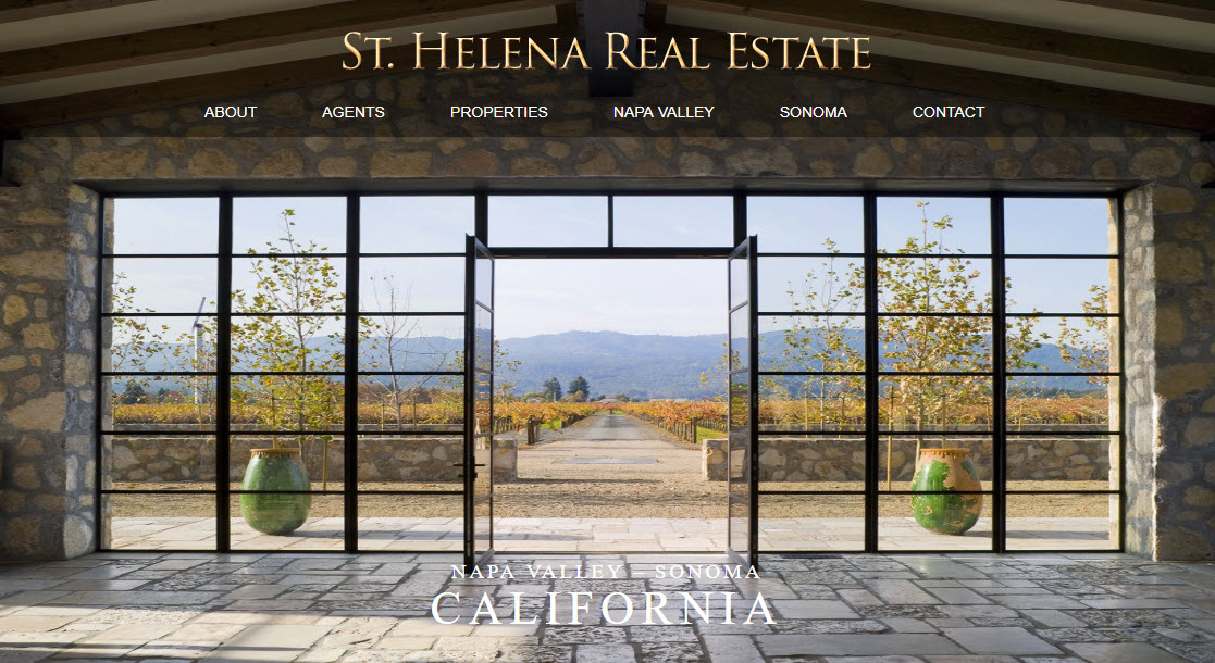 Homepage St Helena Real Estate